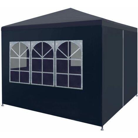 Party Tent 3x3 m Blue