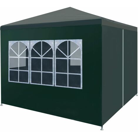 Party Tent 3x3 m Green