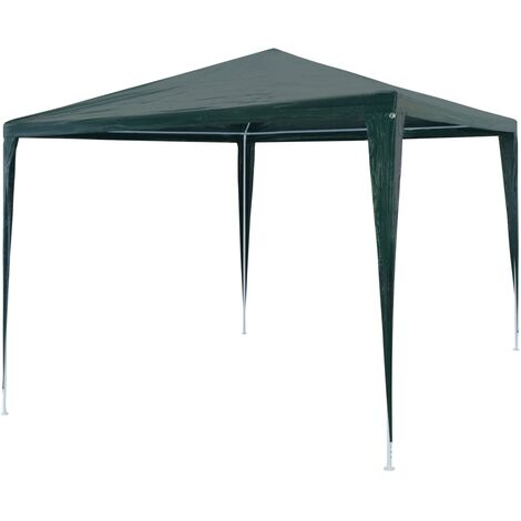 Party Tent 3x3 m PE Green - Green