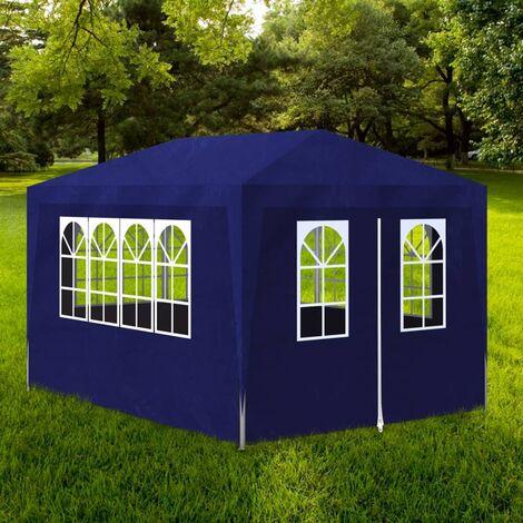 Party Tent 3x4 m Blue - Blue