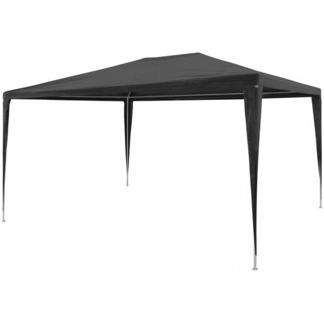 Party Tent 3x4 m PE Anthracite - Anthracite
