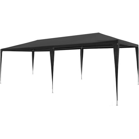 Party Tent 3x6 m PE Anthracite - Anthracite