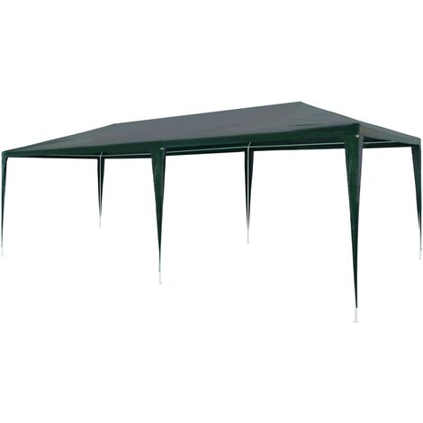 Party Tent 3x6 m PE Green