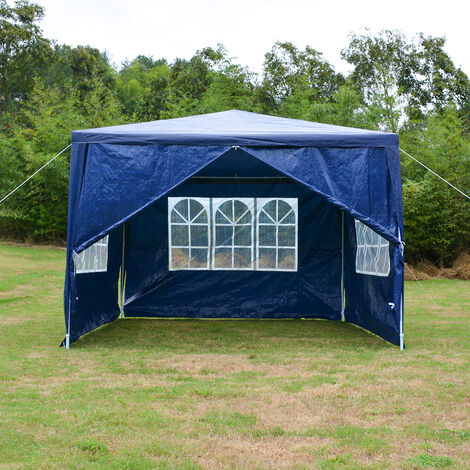Party Tent 3x6M Waterproof Shelter Outdoor Garden Gazebo Marquee Tent