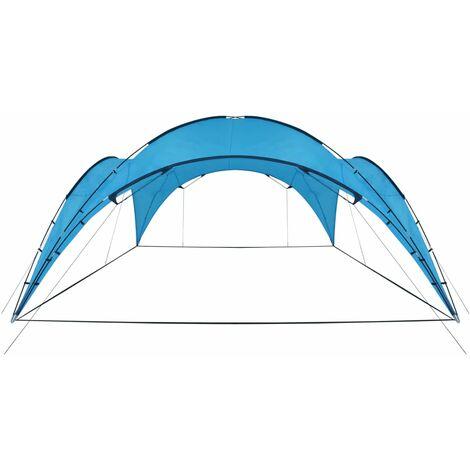 Party Tent Arch 450x450x265 cm Light Blue - Blue