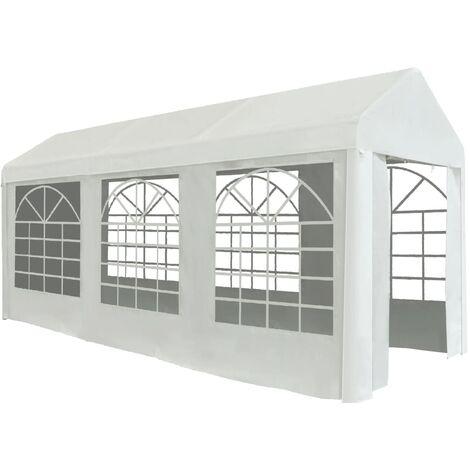 Party Tent PE 2x5 m White - White