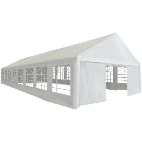 Party Tent PE 6x16 m White