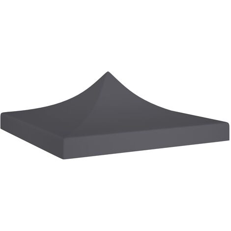 Party Tent Roof 2x2 m Anthracite 270 g/m²