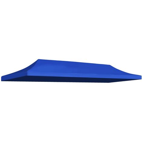 Party Tent Roof 3x6 m Blue