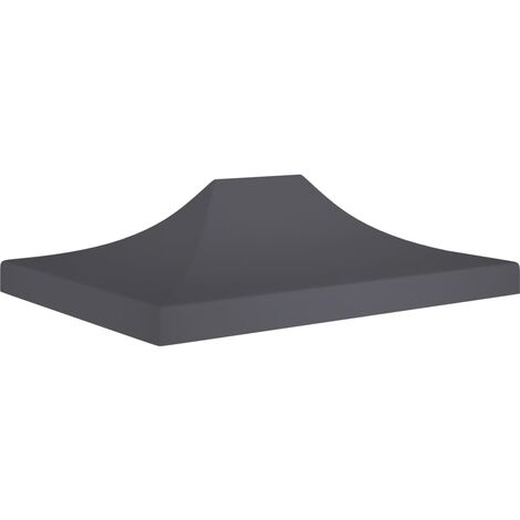 Party Tent Roof 4.5x3 m Anthracite 270 g/m²
