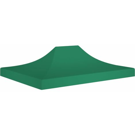 Party Tent Roof 4.5x3 m Green 270 g/m²