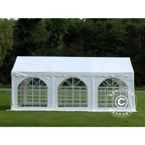 Partyzelt Pavillon Festzelt Dancover Original 3x6m PVC, Weiß