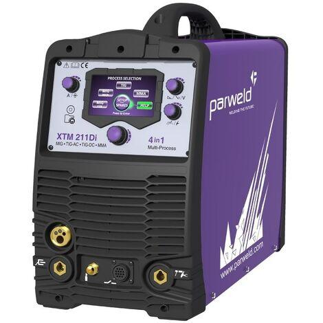 Parweld XTM211DI-P1 4 in 1 Multi-Process Inverter