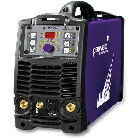 Parweld XTT 212P AC/DC Pulsed Dual Voltage TIG Inverter With Torch & Regulator