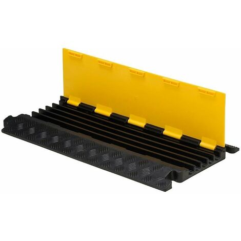 Pasacables suelo 5 canales 90x50x5 cm