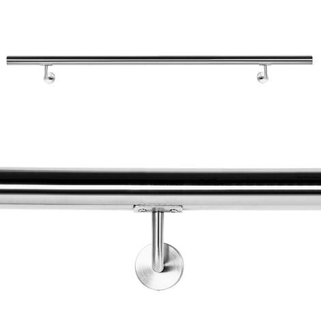 Pasamanos Barandilla Barandas 140cm Escalera Acero Inox V2A