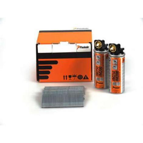 Paslode Brad Nail Fuel Pack F16 x 50mm Galv QTY 2,000