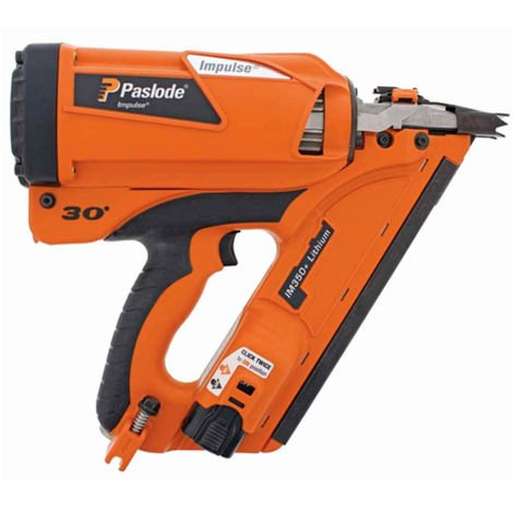 Paslode IM350+ Lithium Gas Cordless Framing Nailer Impulse First Fix Gun