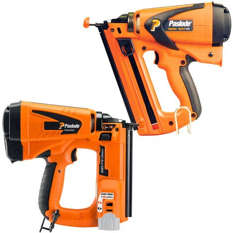 Paslode IM65A F16 Angled Brad Nailer 2nd Fix Gas & IM65 F16 16 Finishing Brad Nailer 2nd Fix