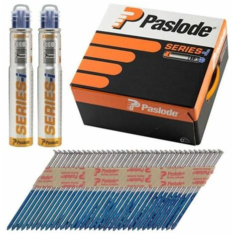 Paslode PAS141071 IM360CI Trade Pack Nail & Gas Ring Shank GLV+ 360 2.8 x 63mm 3CFC Box of 3,300