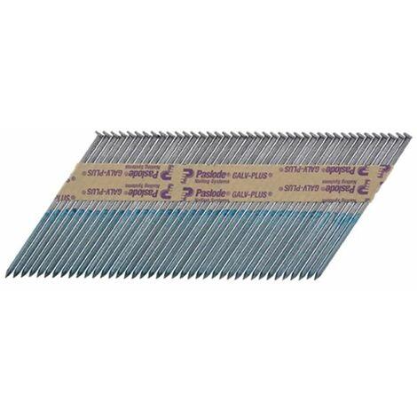 Paslode PAS141077 IM360CI Retail Pack Nail & Gas Plain Shank GLV+ 360 3.1 x 90mm 1CFC Box of 1,100