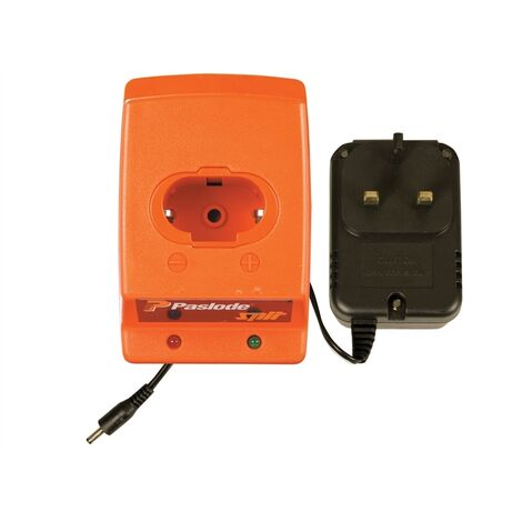Paslode PAS900200 900200 Battery Charger with AC / DC Adaptor