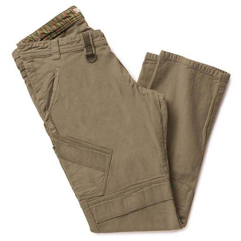 PASS pantalon de travail homme avec genouillere Marron - T. S - Dike