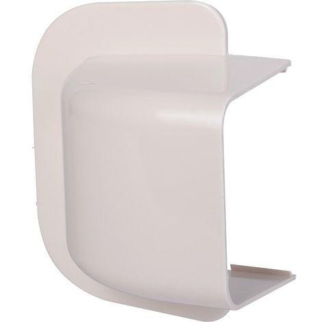 Passage de mur courbe 60 x 80 blanc crème 9001 - DIFF : 806318