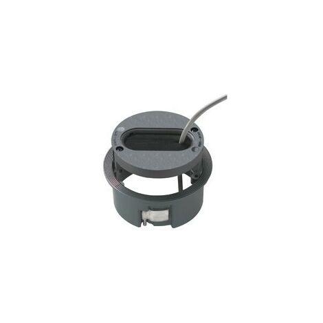 Passe câble ø 125 mm gris anthracite PLANET WATTOHM 47301