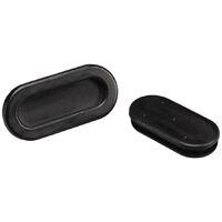 Passe-fils PB Fastener 1098-01 trou oblong Ø de passage max. 33 mm PVC noir 1 pc(s)