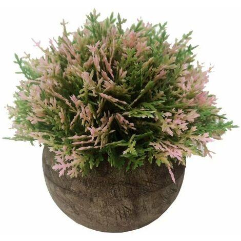 Pasta artificiale in vaso Asparago Bonsai fiore artificiale fiore artificiale fiore verde pianta pianta artificiale pianta artificiale (rosa)