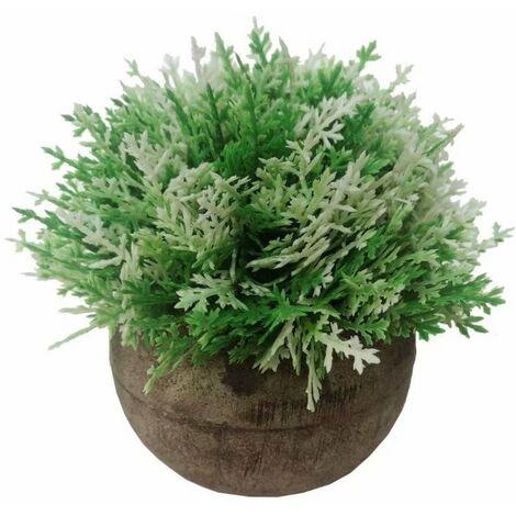 Pasta artificiale Pasta Asparago Bonsai Fiori artificiali Fiori artificiali Piante verdi Piante artificiali Piante artificiali Piante artificiali in vaso (verde e bianco)