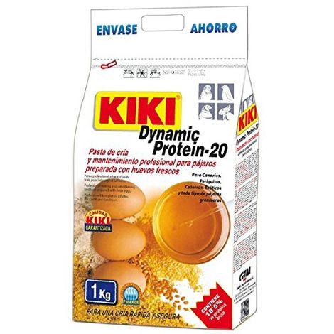 Pasta de Cría Profesional para pájaros KIKI DYNAMIC PROTEIN-20 PAQUETE DE 1 KG.