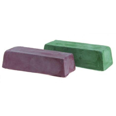 Pasta de pulido verde + roja 2 piezas 2x200g