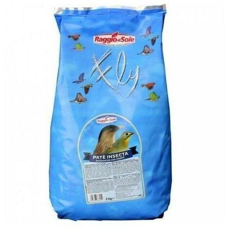 Pasta mórbida para pájaros insectivoros RAGGIO DI SOLE INSECTA 2 kg.