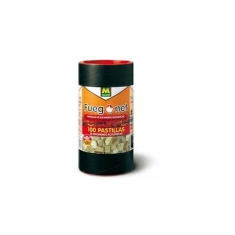 "main image of ""Pastilla Encendido Barbacoa Ecologica Fuegonet 100 Pz"""