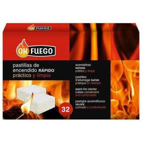 "main image of ""Pastilla Encendido Barbacoa Ok Fuego 32 Pz"""
