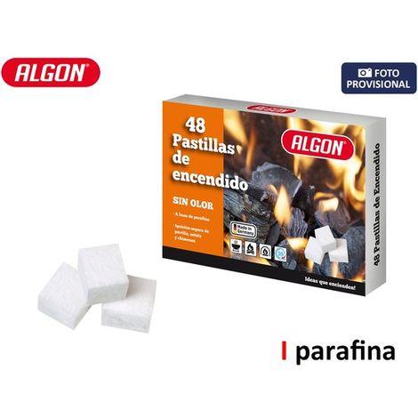 Pastilla Fuego Parafina S/olor 48pc Algon