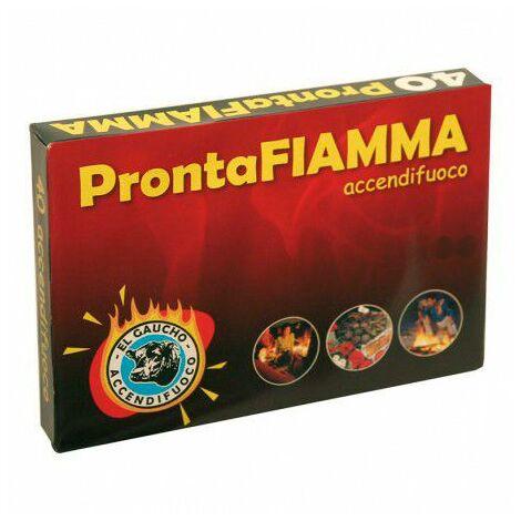 Pastillas de Encendido Kekai ProntaFiamma 48 pastillas para Grill, Barbacoa, Estufa o Chimenea de Leña