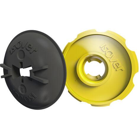 Pastille Optima2 - complément de l'appui Optima2 pour intégrer une membrane en isolation des murs - 50 pièces - ISOVER
