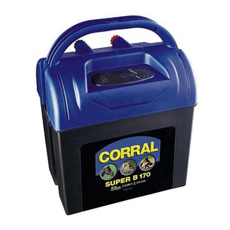 Pastor eléctrico a pila CORRAL SUPER B 170 (9V 0,17 julios)