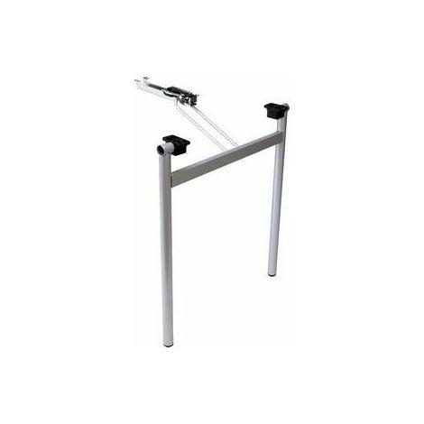 Patas plegables para mesas - talla