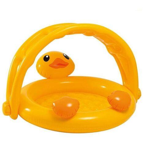 Pataugette arche canard jaune Intex - Pataugette pour les petits