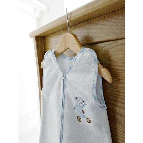 Patch Blue Cosy Baby Sleep Suit 0-3 Months