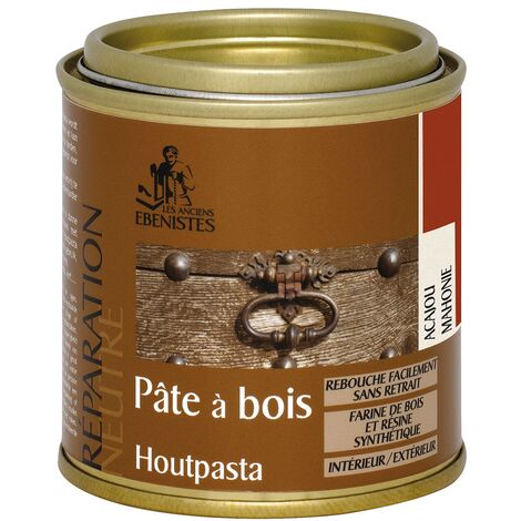 Pâte à Bois Les Anciens Ebénistes - acajou 140 g