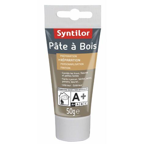 Pâte à bois SYNTILOR, acajou foncé, 50 g