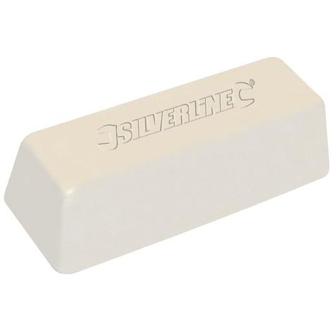 Pâte à polir blanche - 500 g Composé fin pour métaux durs