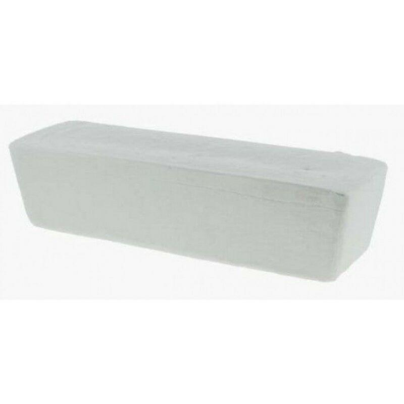 Pâte à polir blanche 800g pour aluminium métal