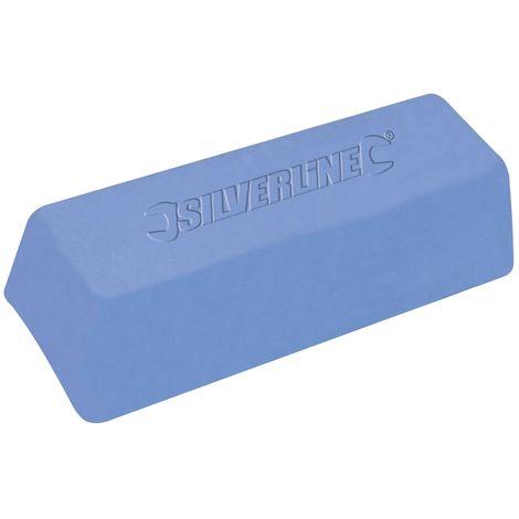 Pâte à polir bleue 500 g - 107879 - Silverline - -
