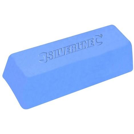 Pâte à polir bleue, 500 g Composé fin, Couleur bleue